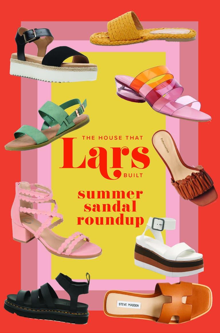 7 Summer Sandal Trends for 2021