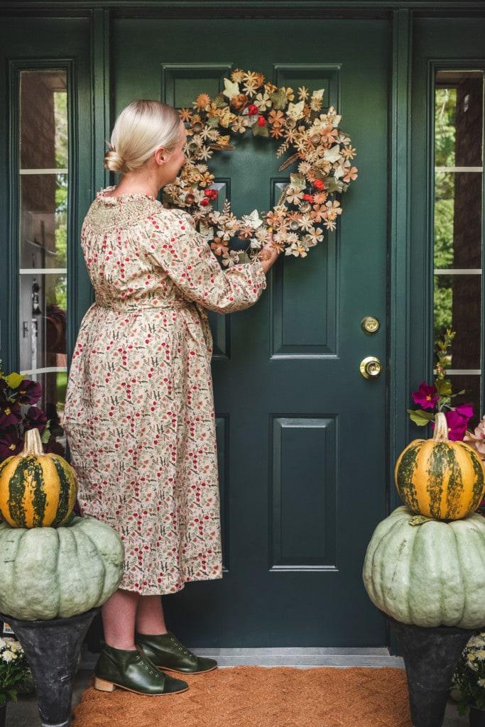 beautiful fall wreath